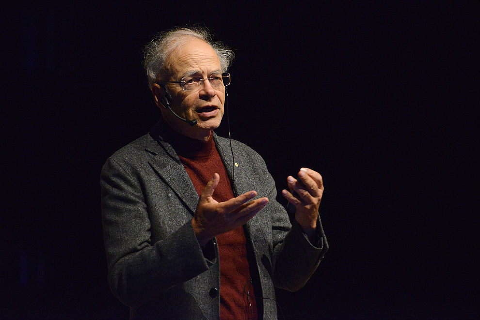 surfing singer inside story value for money peter singer speaking at fronteiras do pensamento in porto alegre in 2012