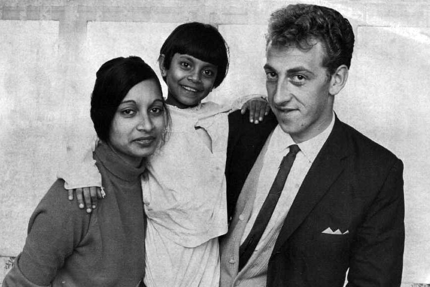 the beginning of the end of the white policy inside story  in 1965 of five year old nancy prasad shown here her sister and brother in law helped fuel pressure for a shift in n immigration policy