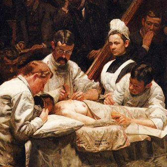 the gross clinic essay The gross clinic, thomas eakins (1875) jonathan jones her eyes this directs us back to gross, to his calm, heroic ability to look, to see.